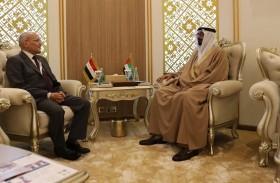البواردي يلتقي وزير الدولة للإنتاج الحربي المصري