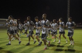 الأبيض الأولمبي يستعد لمواجهة الأردن الحاسمة غداً الخميس