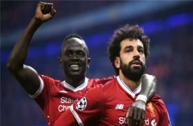 ماني وصلاح يقودان ليفربول للفوز على نيوكاسل