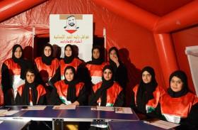 قوافل زايد الخير تواصل فعالياتها المجتمعية في عجمان