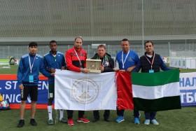 مشاركة طلاب من منتخب الجامعة القاسمية لكرة القدم بالمهرجان العالمي الـ 19 للطلاب و الشباب بروسيا