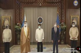 رئيس الفلبين يتسلم أوراق اعتماد سفير الدولة