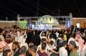 أكثر من 50 ألف زائر لجناح دولة الإمارات في مهرجان سوق عكاظ