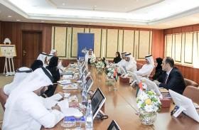اللجنة الدائمة للتنمية الاقتصادية في عجمان  تطلع على الخطة الاستراتيجية للمنطقة الحرة