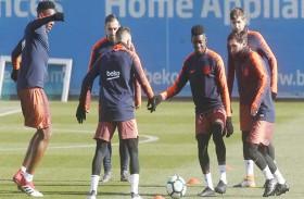 برشلونة يعلن عن قائمته النهائية لموقعة تشيلسي