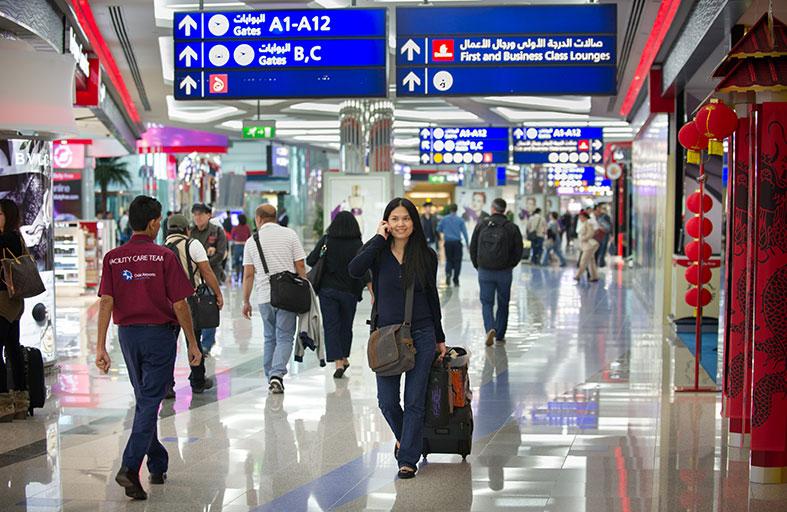 60 مليون مسافر استخدموا مطار دبي في 11 شهراً