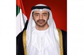 عبدالله بن زايد يترأس وفد الدولة المشارك في اجتماعات الجمعية العامة للأمم المتحدة