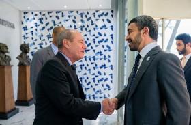 عبدالله بن زايد يلتقي وزير الدفاع البرازيلي