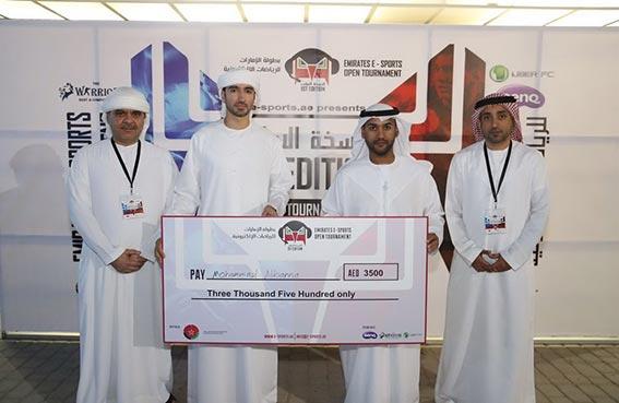 راشد بن كشيش يتوج أبطال النسخة الأولى لبطولة الإمارات للرياضات الإلكترونية