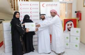 الهلال الأحمر الإماراتي في عجمان يدعم  3686 أسرة بقيمة تلامس 11 مليون درهم