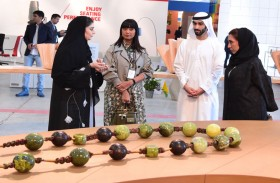 ماجد المعلا يزورأسبوع دبي للتصميم