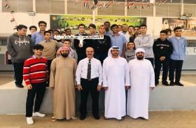 شرطة دبي تنظم برنامجاً توعوياً حول حملة «التزامكم سعادة»
