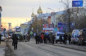 تفجير انتحاري بفرع للاستخبارات الروسية