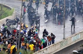 ارتفاع حصيلة ضحايا احتجاجات فنزويلا إلى 72
