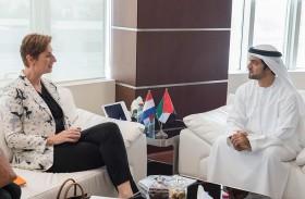 «الامانة العامة للمجلس التنفيذي لإمارة أبوظبي» والسفارة الهولندية تبحثان العلاقات الثنائية
