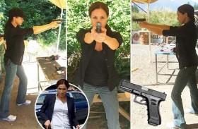 هكذا تدرّبت ميغان ماركل على استخدام السلاح