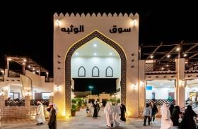 جناح خليفة الإنسانية يستقطب زوار مهرجان الشيخ زايد بفعاليات تراثية وتعليمية
