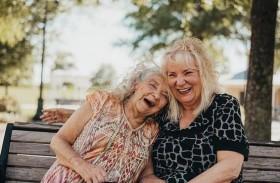 تلتقي ابنتها للمرة الأولى منذ 70 عاماً