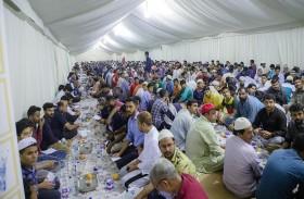 نصف مليون وجبة إفطار من خيرية الشارقة خلال النصف الأول من رمضان