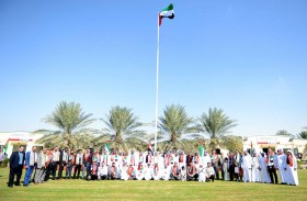 بلدية منطقة الظفرة تحتفل باليوم الوطني 46