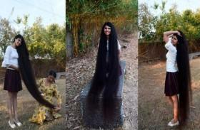 نيلانشي.. صاحبة أطول شعر في العالم