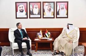 البواردي يلتقي السفير الكوري