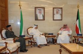 رئيس جهاز الأمن الوطني الكويتي يلتقي سفير الدولة