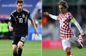 ميسي الأرجنتين في مواجهة مصيرية مع كرواتيا