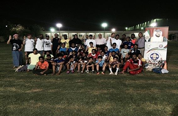 كشافة دبي تختتم مهرجان الألعاب الشعبية الرمضانية