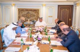 مجلس أمناء جائزة راشد بن حمد الشرقي للإبداع يستعرض جدول أعمال الجائزة