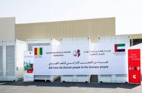 الإمارات تزود غينيا بمولدات كهربائية بطاقة إجمالية 10 آلاف كيلو واط