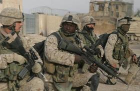 القوات الأمريكية تحبط هجوماً لداعش غرب بغداد