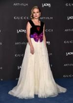 بري لارسون خلال حضورها حفل 2019 LACMA  الفني السينمائي الذي قدمته Gucci في لوس أنجلوس، كاليفورنيا. أ ف ب