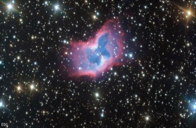 على بعد آلاف السنوات الضوئية.. أول صورة لـفراشة الفضاء