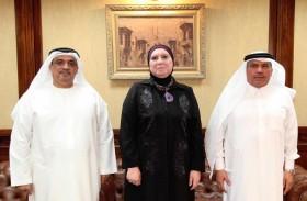 جهاز تنمية المشروعات بمصر يستقبل وفد الغرفة ومؤسسة سعود بن صقر