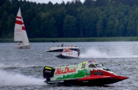«أبوظبي 36» بطلا للمرحلة الثانية من تحدي أوجستو لزوارق الفورمولا 2 ببولندا