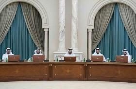 عبد الله بن سالم القاسمي يترأس اجتماع المجلس التنفيذي لإمارة الشارقة