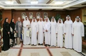 غرفة عجمان تستقبل وفد مجلس الاعمال الكويتي لبحث التعاون المشترك