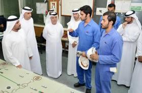 «كهرباء أبوظبي» تنجح في تشغيل محطة بسواعد إماراتية