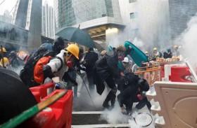 الصين تدعو لقوانين متشددة بسبب هونغ كونغ