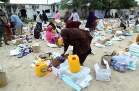 «خليفة الإنسانية» تنفذ المرحلة الأولى من إغاثة الصومال في ولاية جوبالاند