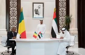 محمد بن زايد يشهد توقيع عدد من الاتفاقيات ومذكرات التفاهم بين الإمارات و مالي
