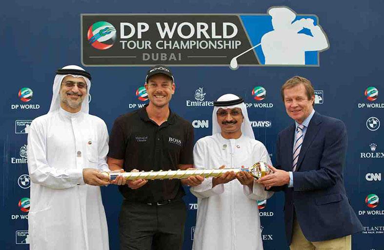 مطر الطاير يشهد ختام بطولة موانىء دبي العالمية للجولف