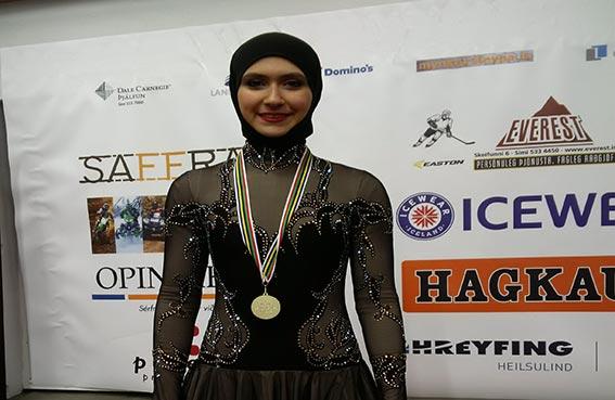 فاطمة بنت هزاع تبارك إنجاز زهرة لاري في دورة الألعاب العالمية في آيسلندا
