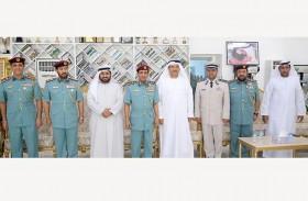 شرطة رأس الخيمة تكرم الضباط المتقاعدين