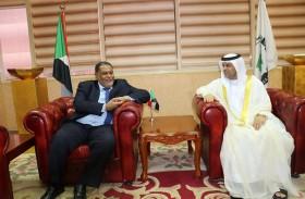سفير الدولة يلتقي وزير المالية السوداني