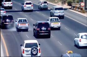 شرطة أبوظبي : عدم ترك «مسافة أمان» يتسبب في حوادث جسيمة على الطرق