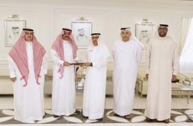 مدير عام محاكم دبي يستقبل القنصل العام للمملكة العربية السعودية