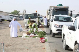 القطاع الشرقي ببلدية مدينة العين يرصد 67 طناً من البضائع المخالفة