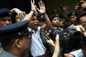 سجن صحافيين من «رويترز» سبع سنوات في بورما